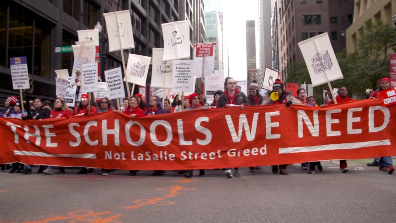 Chicago Public School teachers strike