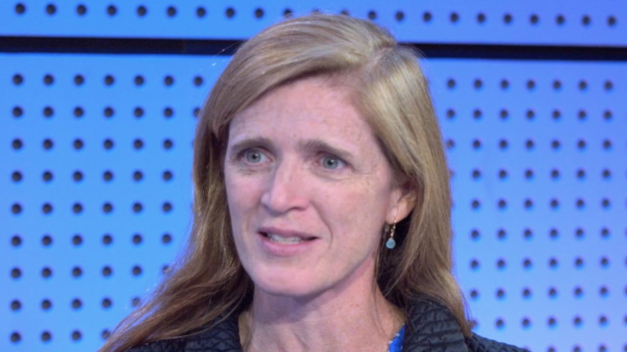 From Journalist To U.N. Ambassador: Samantha Power Details Her Journey