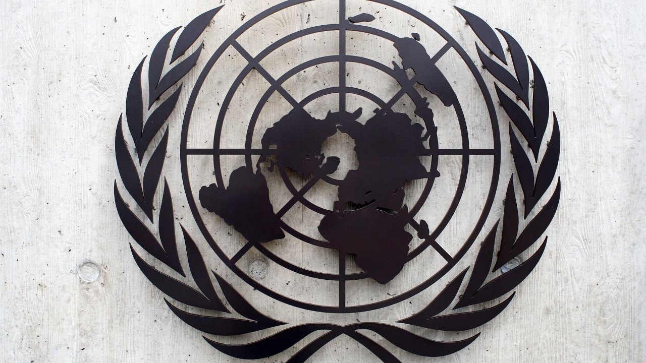 The United Nations emblem