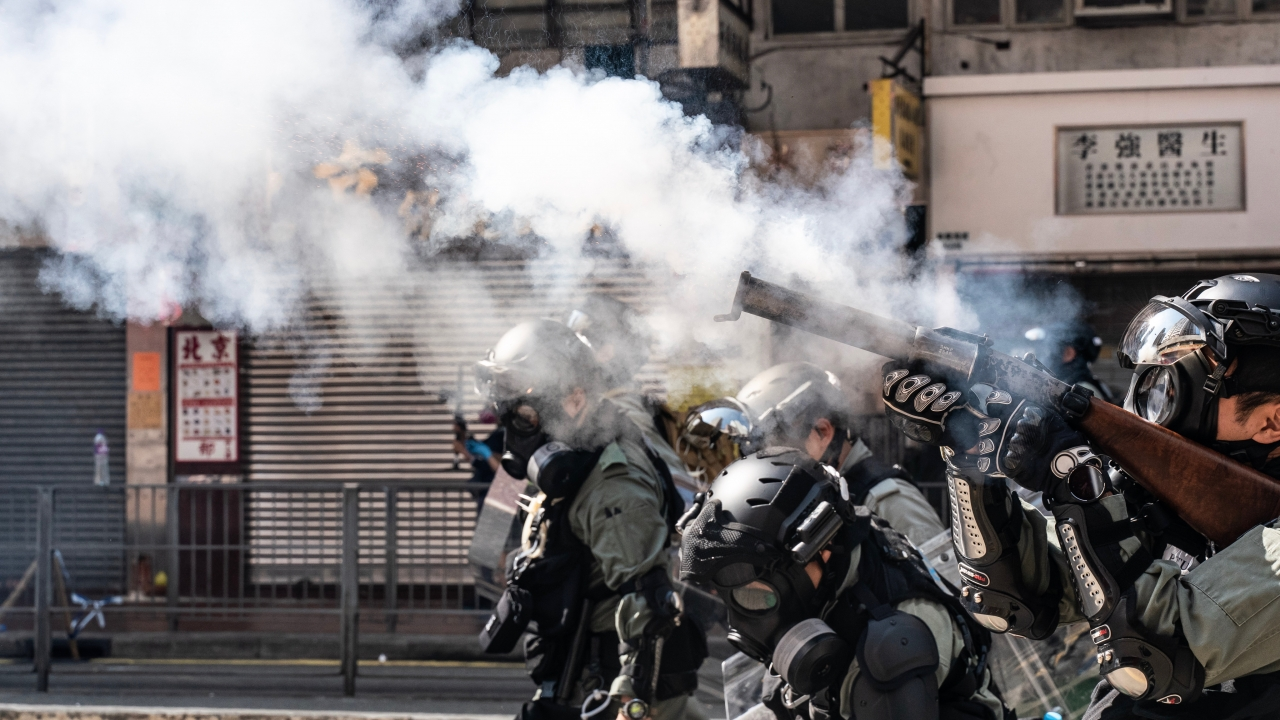 Hong Kong Protest Descends Into Chaos As Man Is Lit On Fire