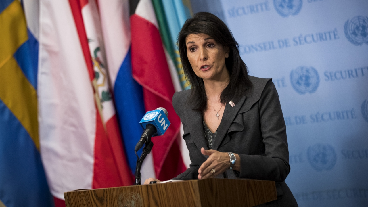 Nikki Haley Says Tillerson And Kelly Asked Her To Help Undermine Trump