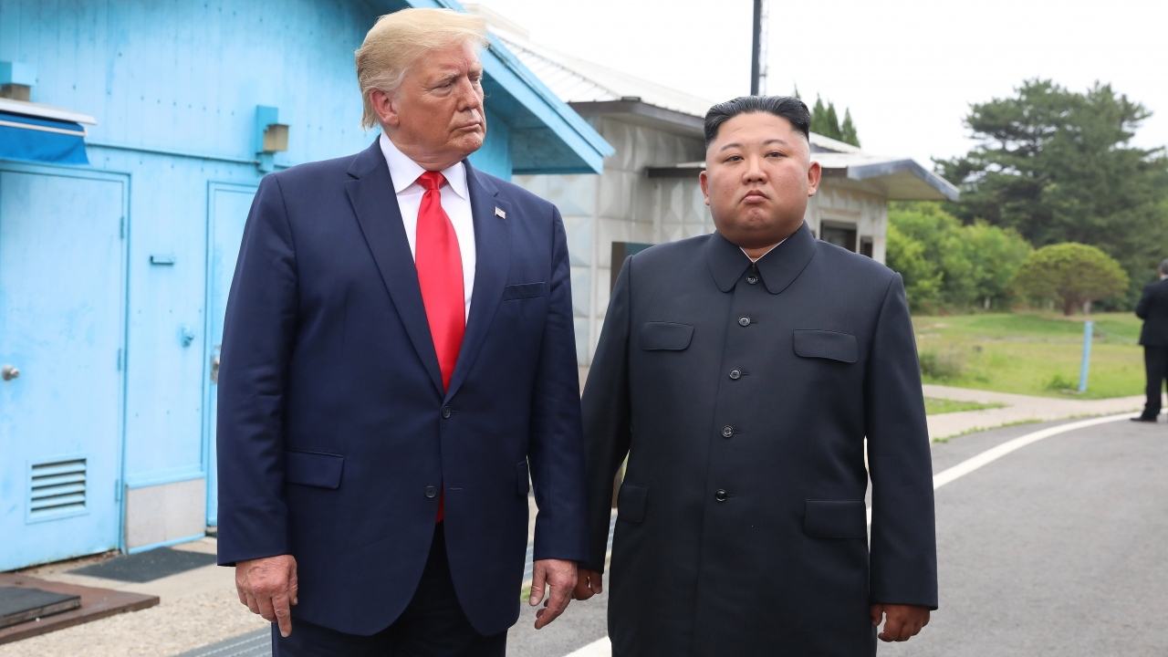 U.S. President Donald Trump and North Korean Leader Kim Jong-un
