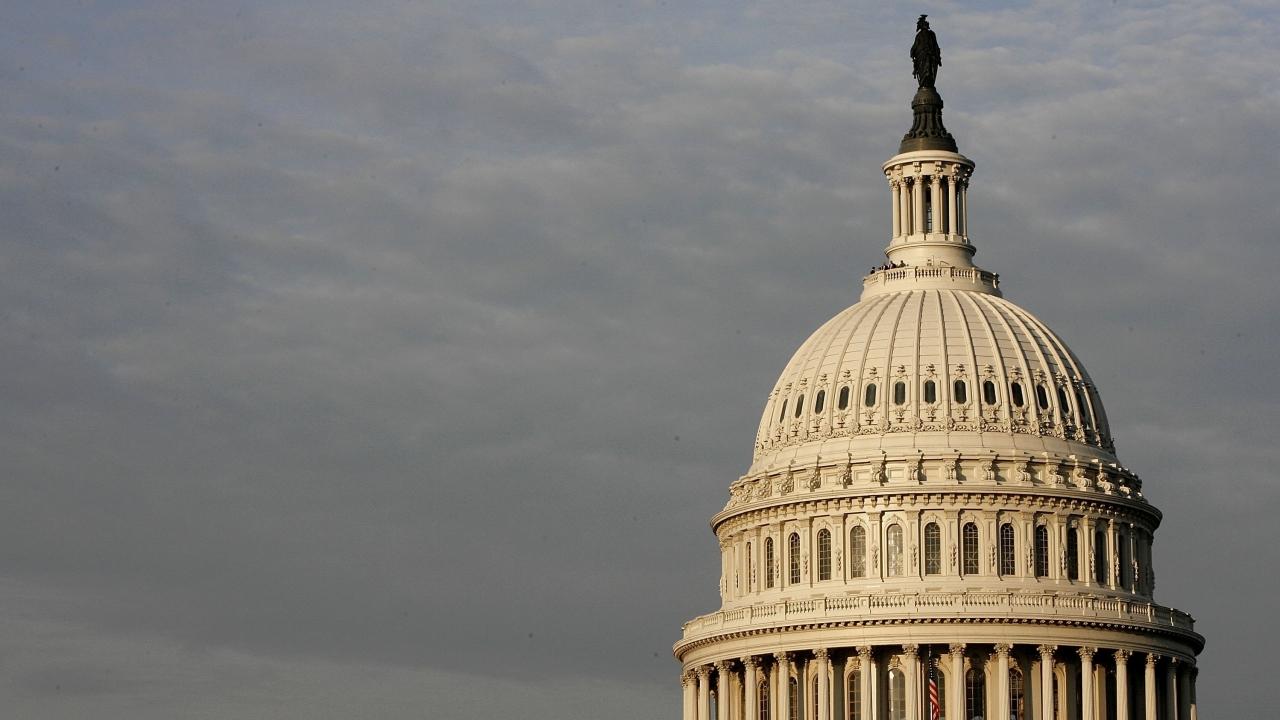 The U.S. Capitol dome