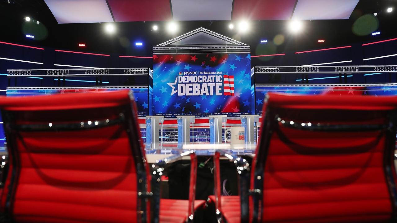 10 Democratic Candidates Square Off In Atlanta Debate