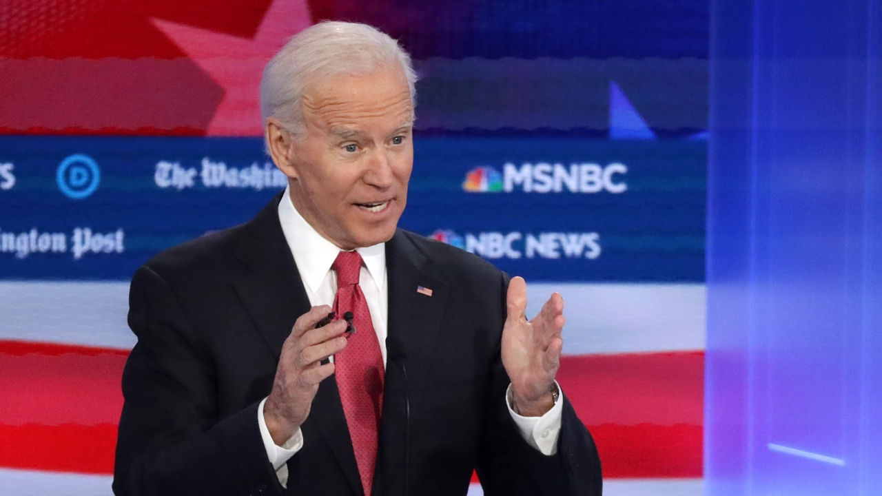 Biden Taking Heat For His Stance On Weed