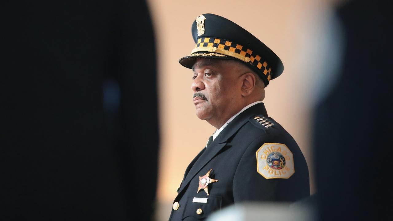 Former Chicago Police Superintendent Eddie Johnson