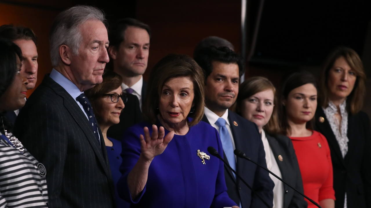 House Speaker Nancy Pelosi and Rep. Richard Neal