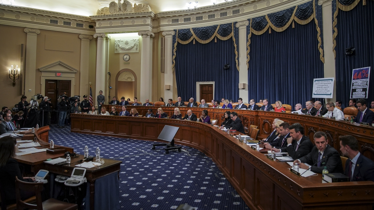 Judiciary Committee Debates Articles Of Impeachment