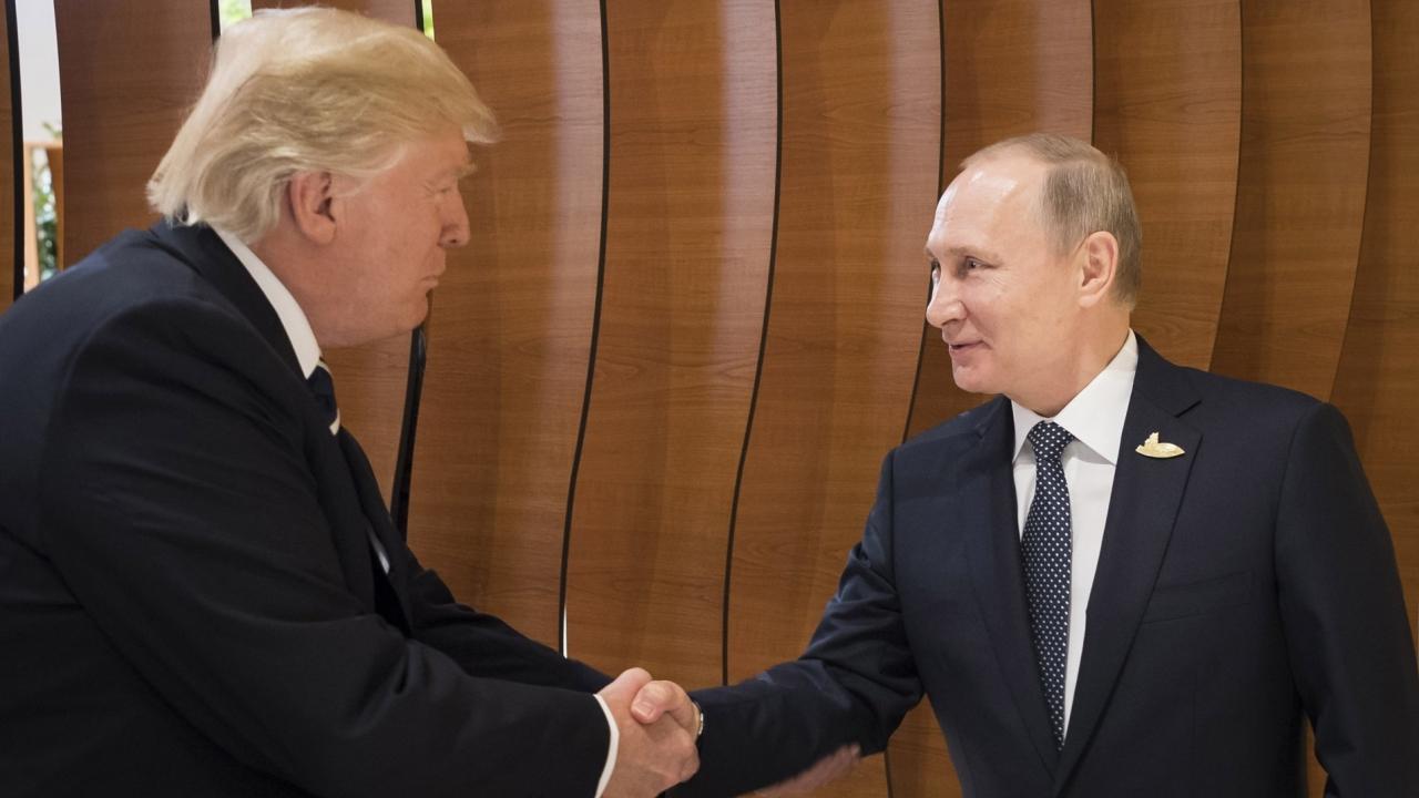U.S. President Trump and Russian President Vladimir Putin