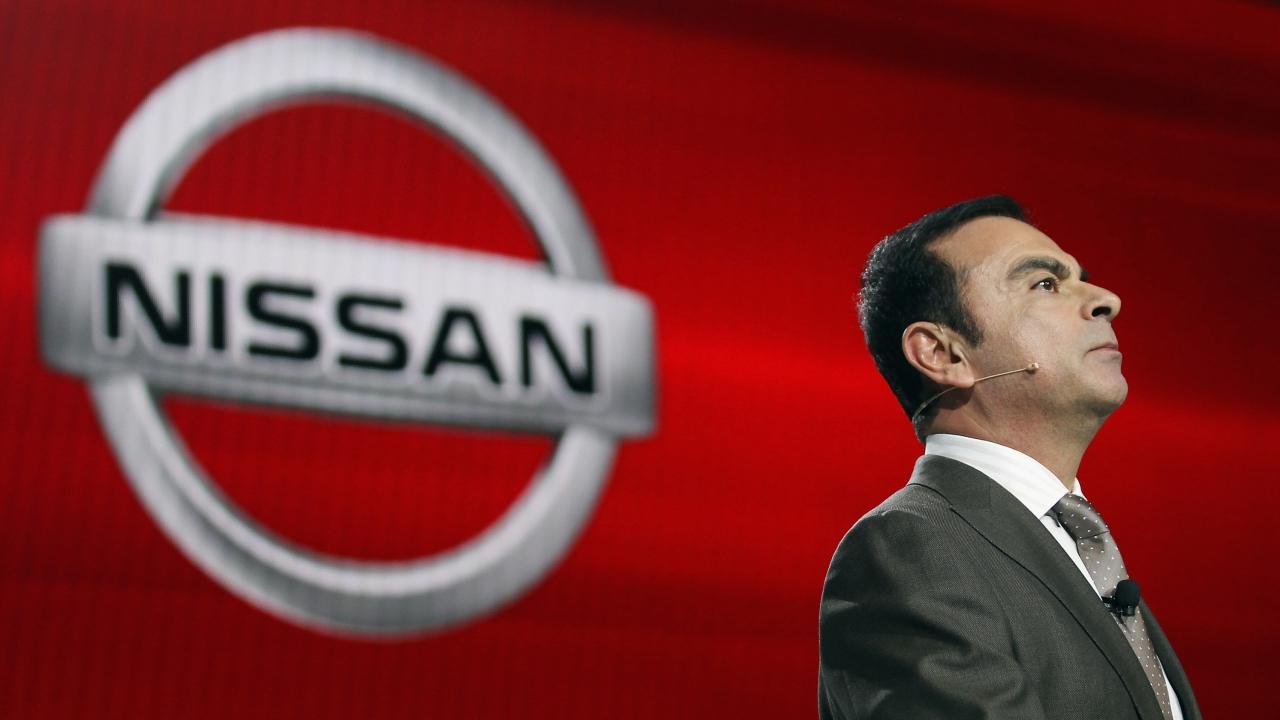 Former Nissan chairman Carlos Ghosn
