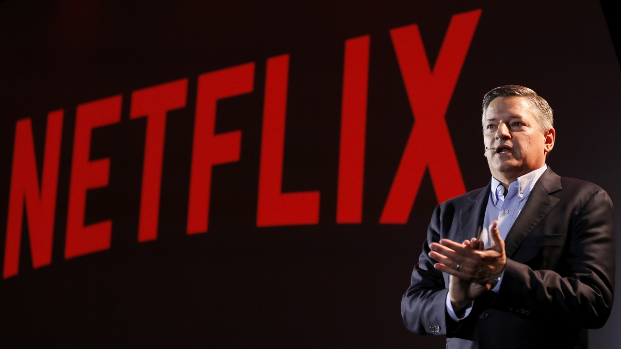Netflix's Chief Content Officer Ted Sarando