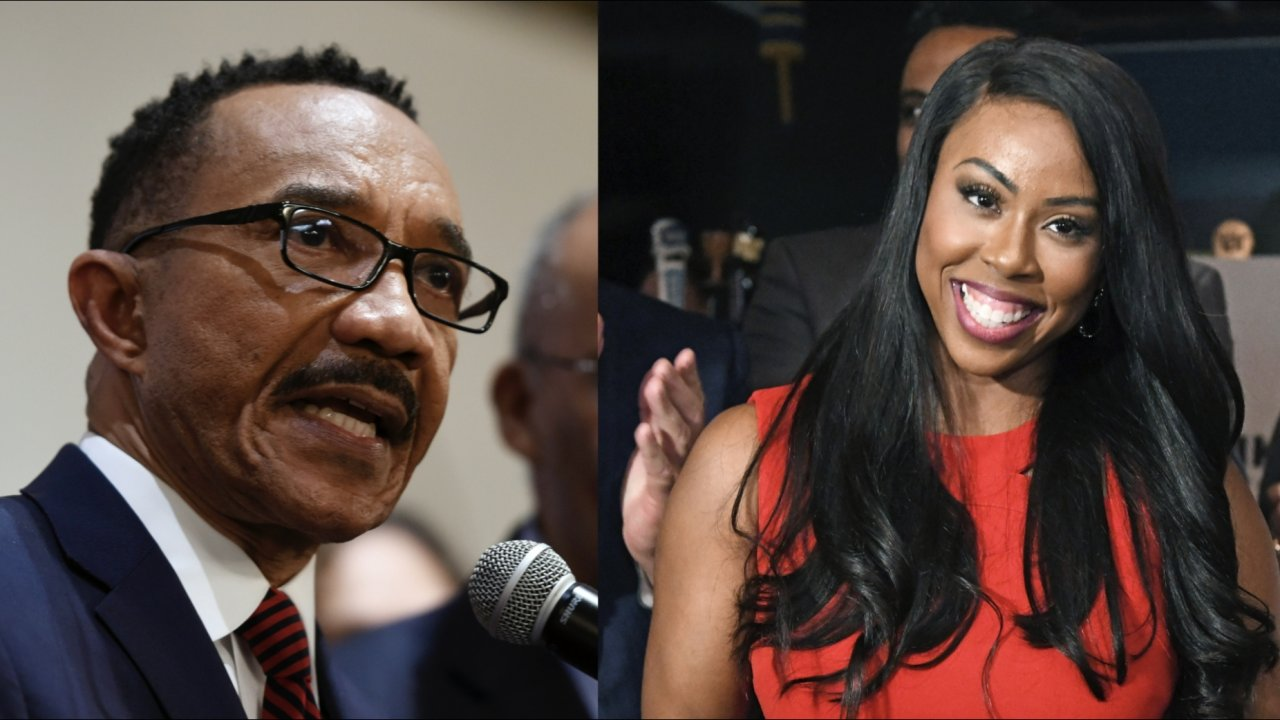 Democrat Kweisi Mfume and Republican Kimberly Klacik won their party nomination for 7th congressional district race