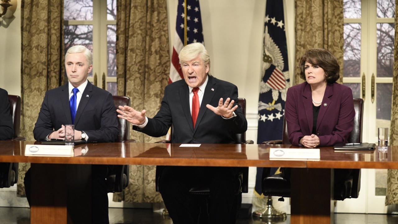 """A """"Saturday Night Live""""skit"""