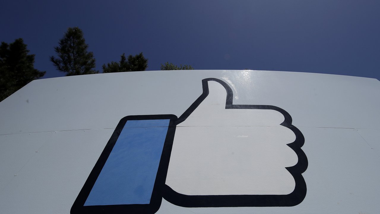 """Facebook's thumbs-up """"like"""" logo"""