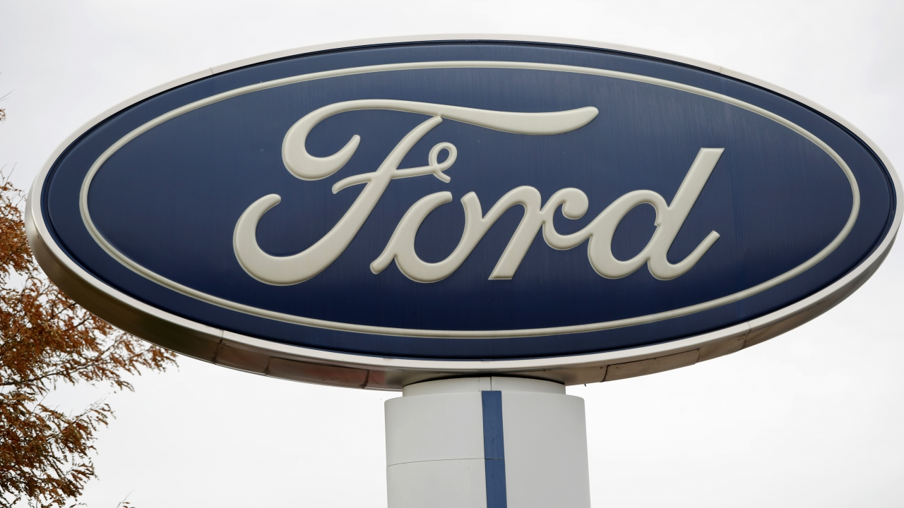 A Ford sign