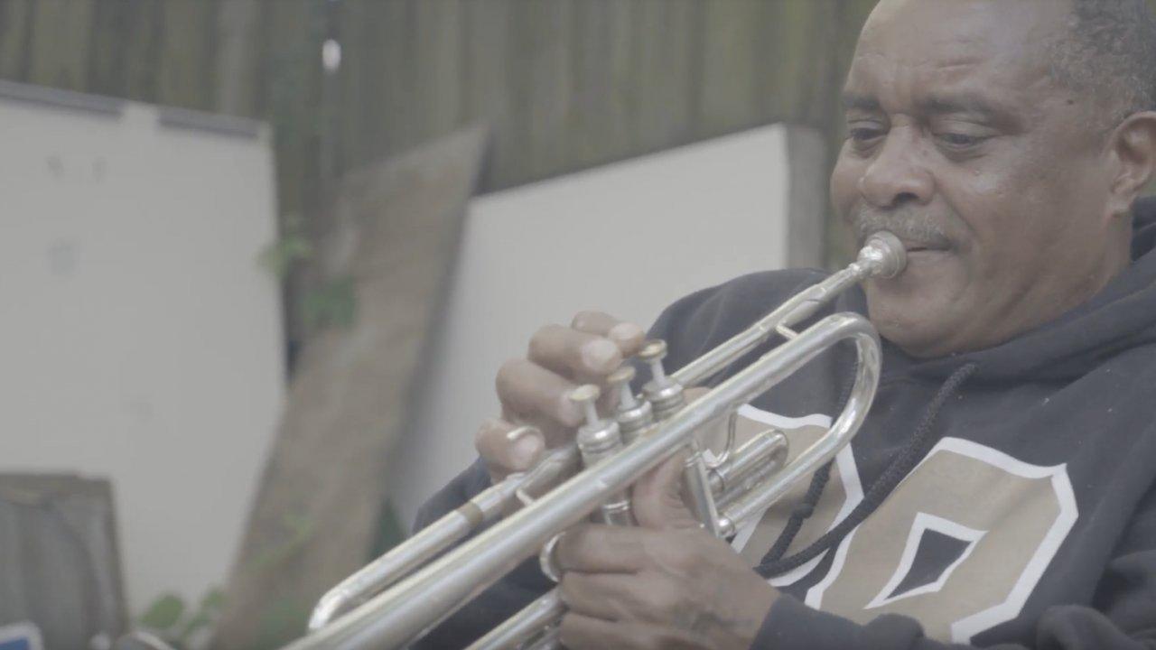 Jazz trumpeter Efrem Towns