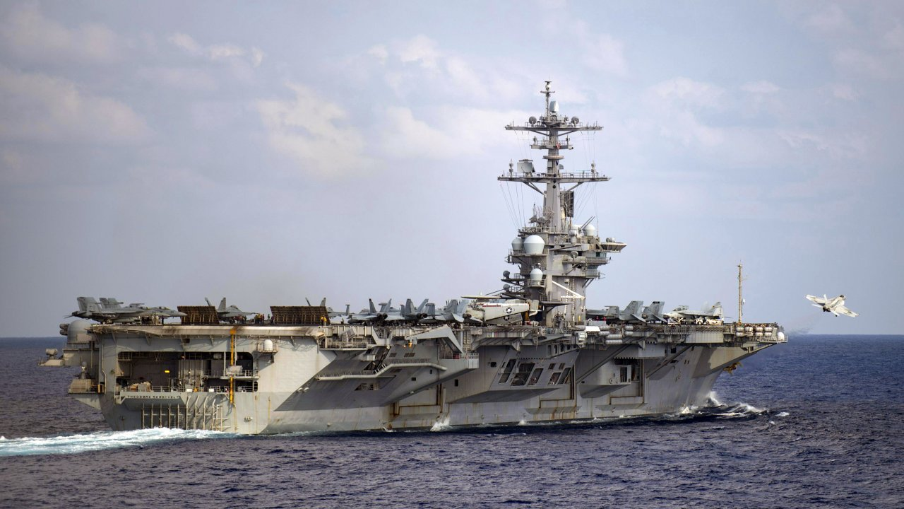 USS Theodore Roosevelt aircraft carrier