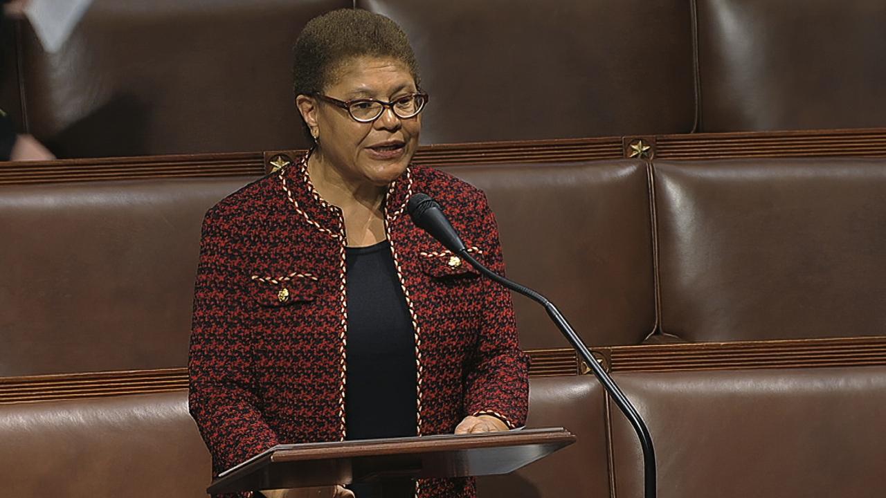 Congressional Black Caucus Chair Karen Bass