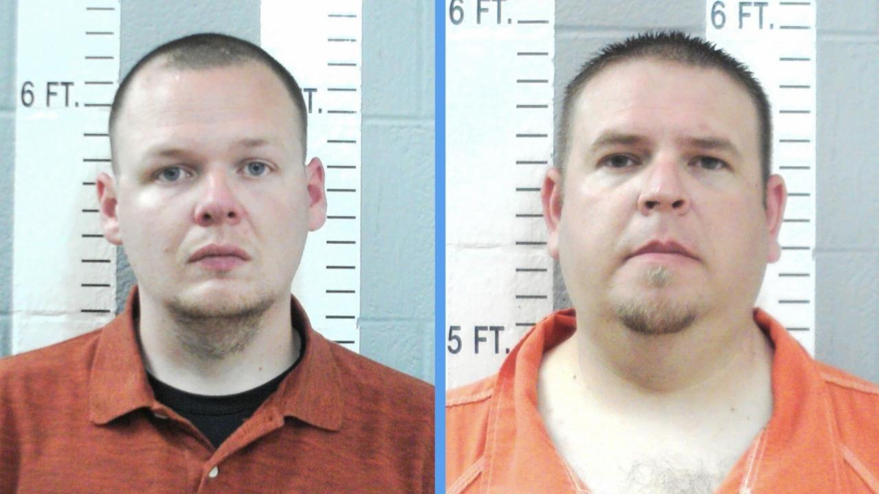Wilson police officers Joshua Taylor and Brandon Dingman