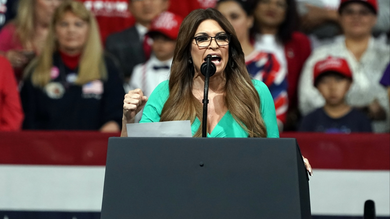 Kimberly Guilfoyle speaks at Phoenix campaign rally