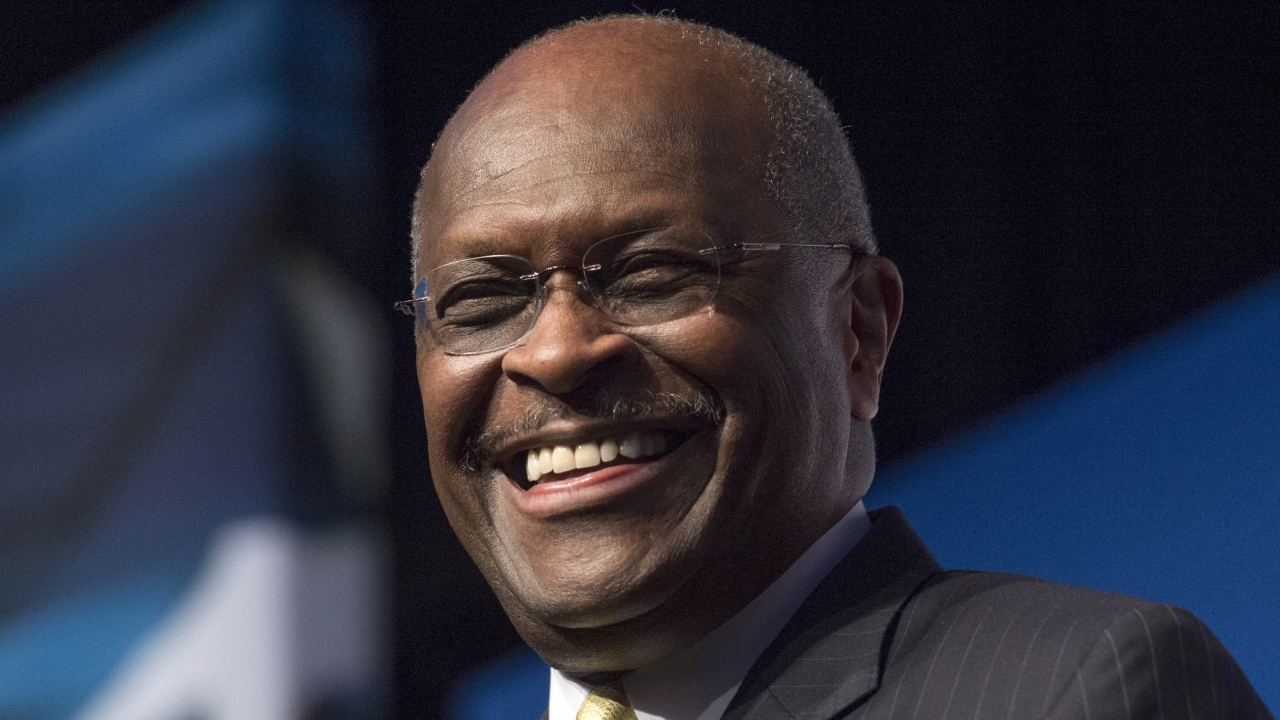 Herman Cain, CEO, The New Voice, speaks during Faith and Freedom Coalition's Road to Majority event in Washington