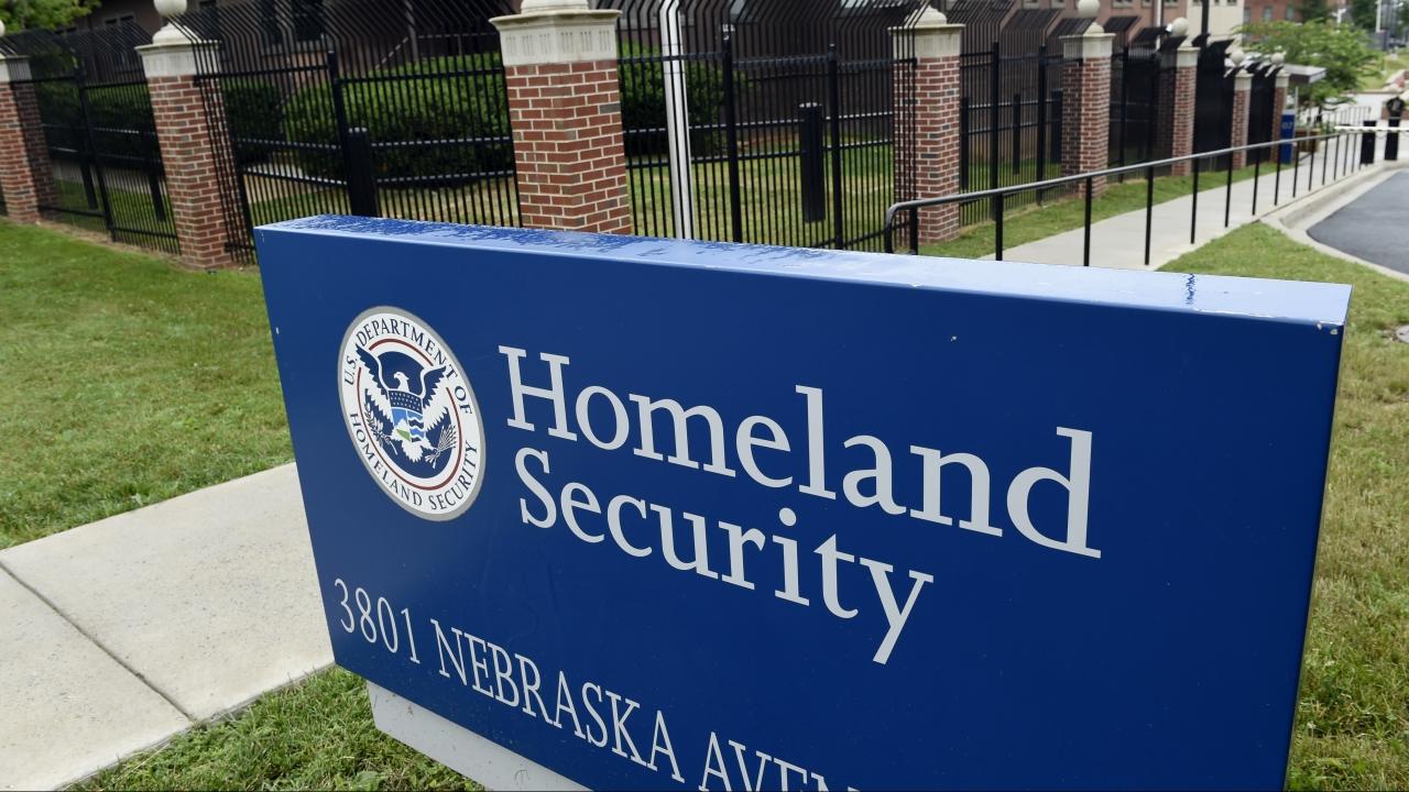 Homeland Security Department headquarters in Washington