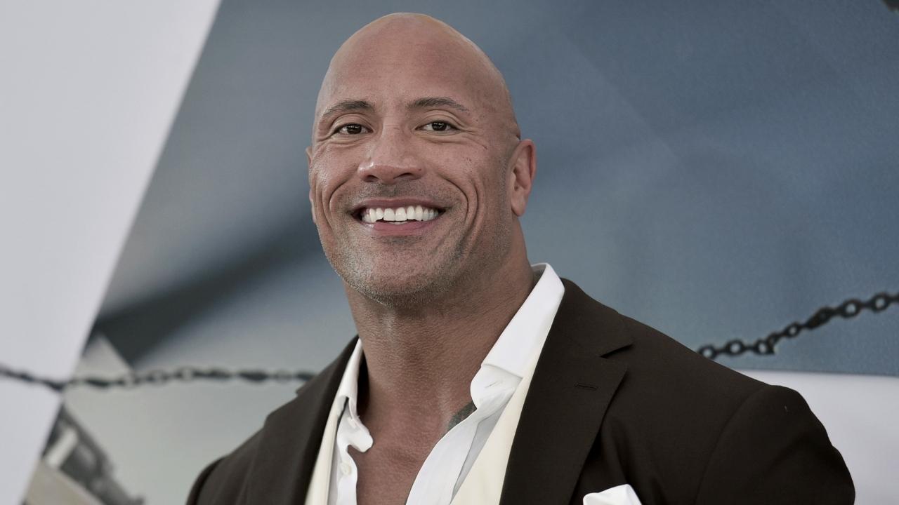 "Actor Dwayne ""The Rock"" Johnson"