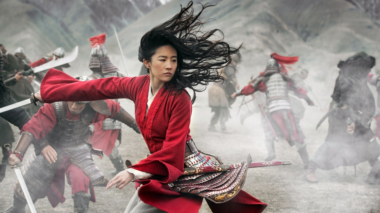 "Image from Disney's live action ""Mulan"""