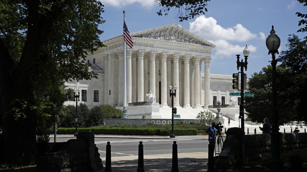 Supreme Court on Capitol Hill
