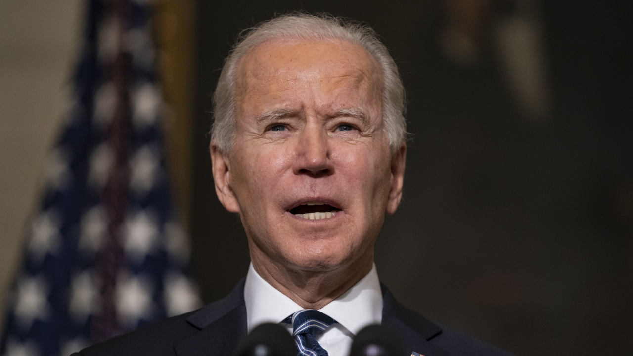 President Joe Biden delivers remarks on climate change and green jobs