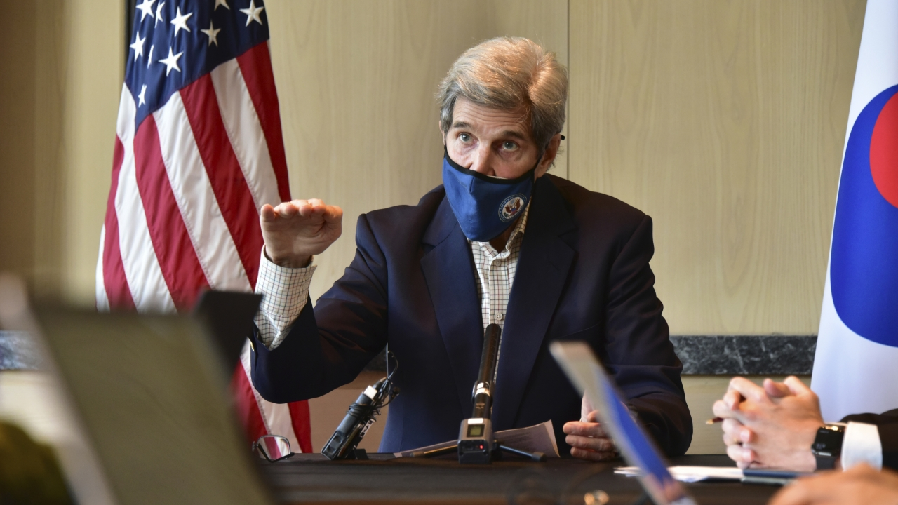 U.S. special envoy for climate John Kerry.