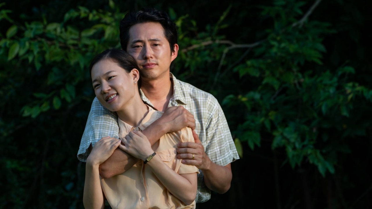 "Yeri Han and Steven Yeun in Lee Isaac Chung's ""Minari"""