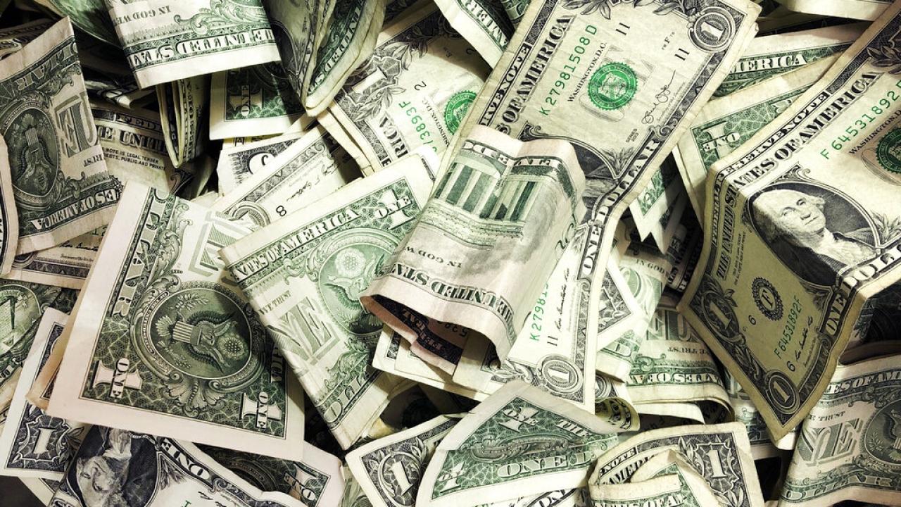 file photo, dollar bills
