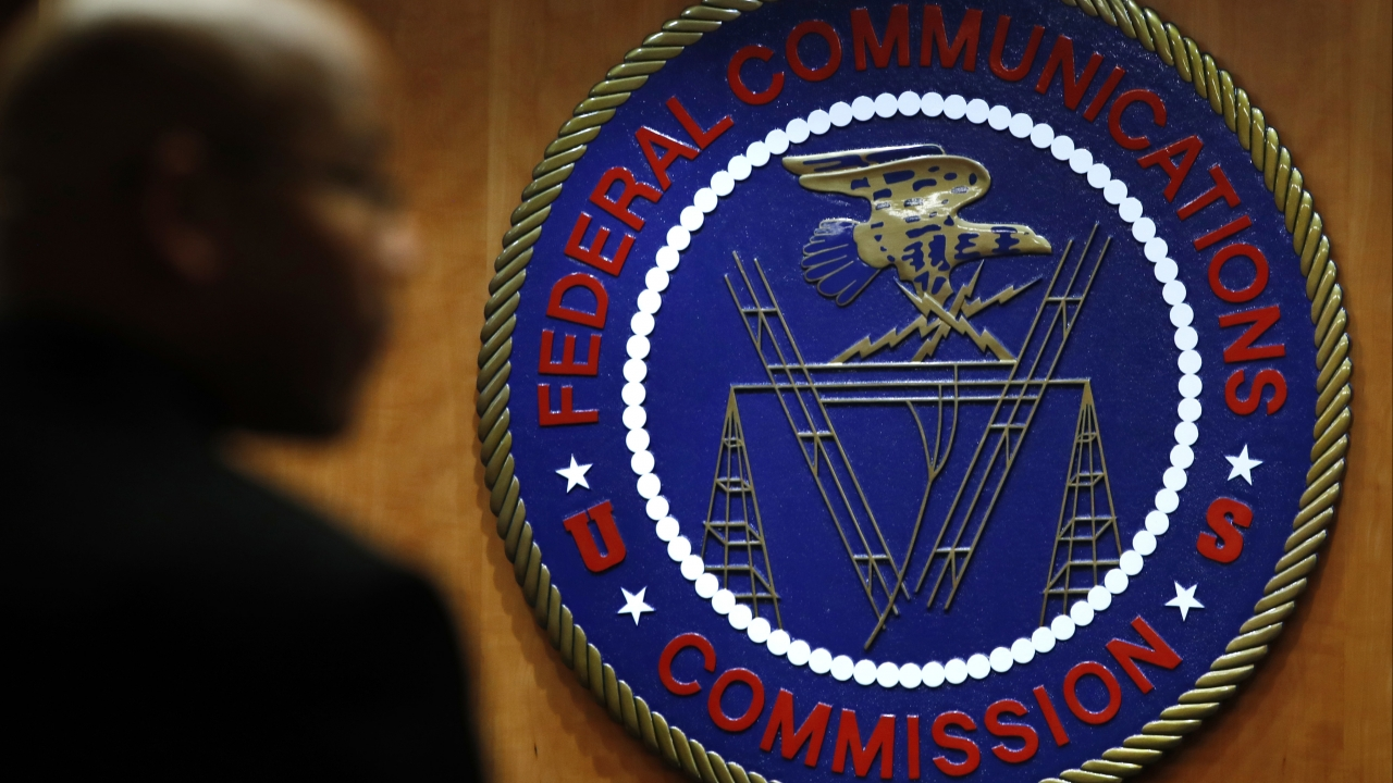 The seal of the Federal Communications Commission (FCC)
