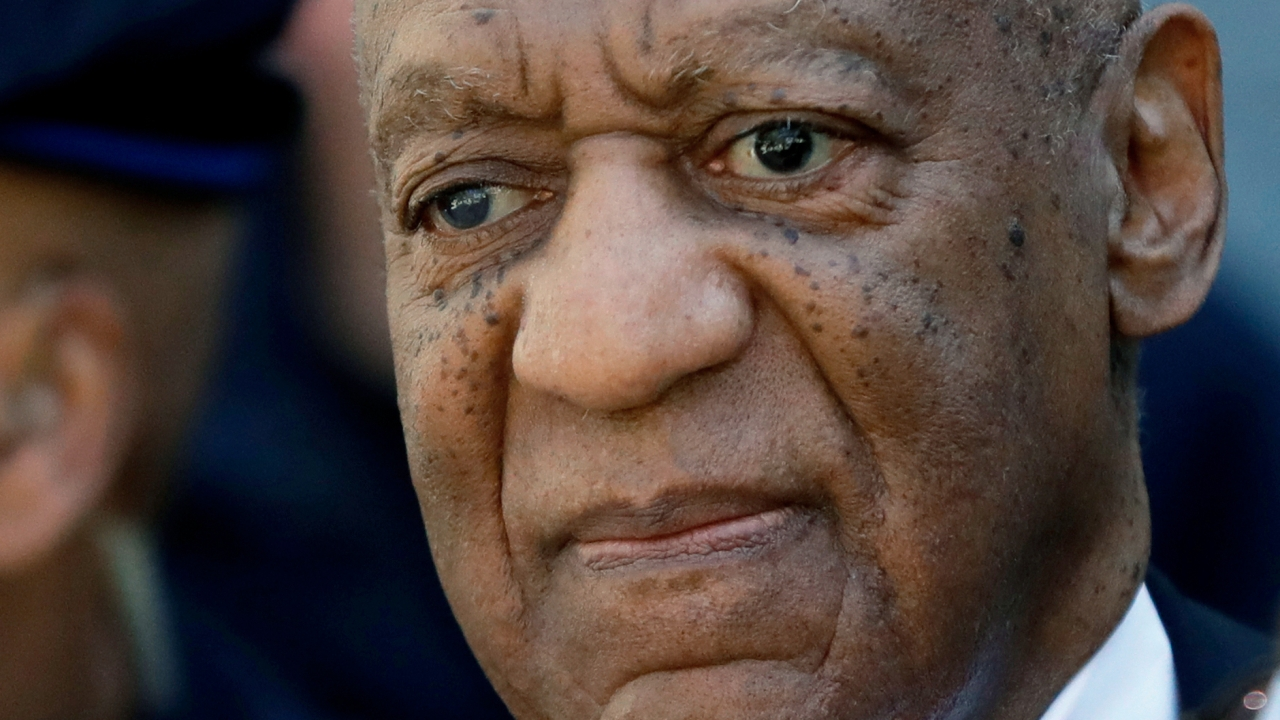 Actor and comedian Bill Cosby departs the courthouse.