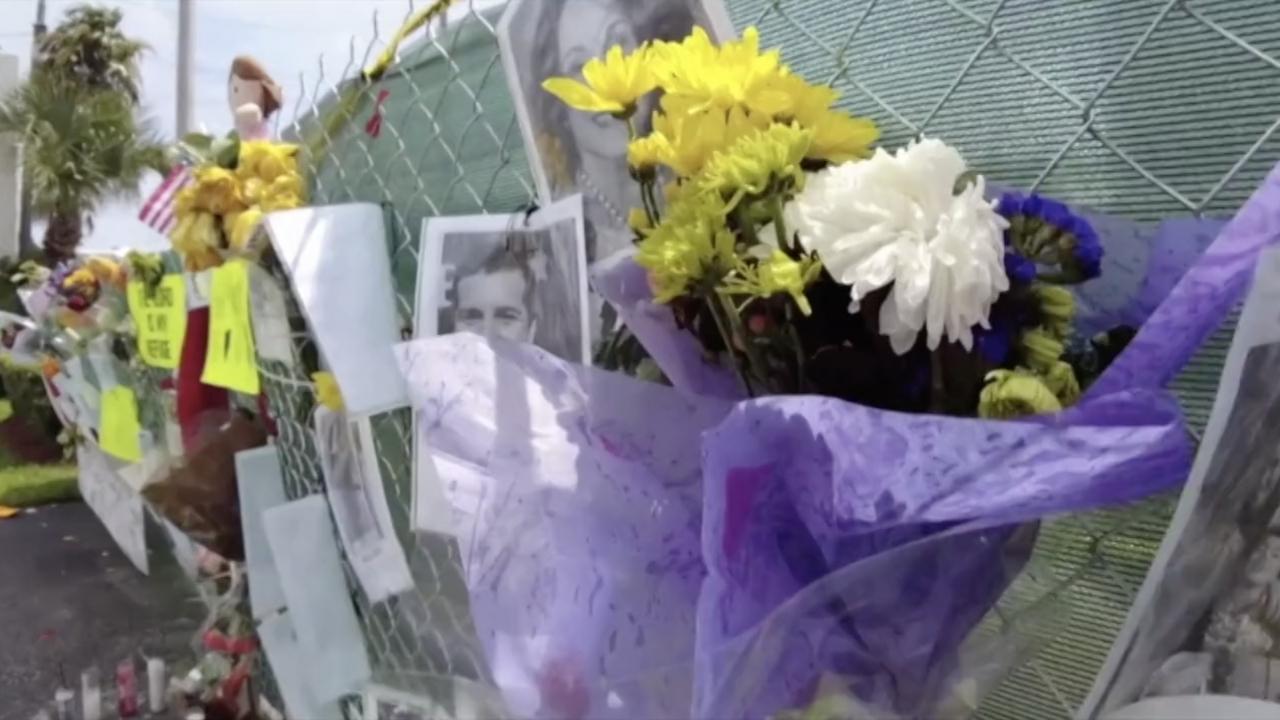 Memorial in Surfside, FL