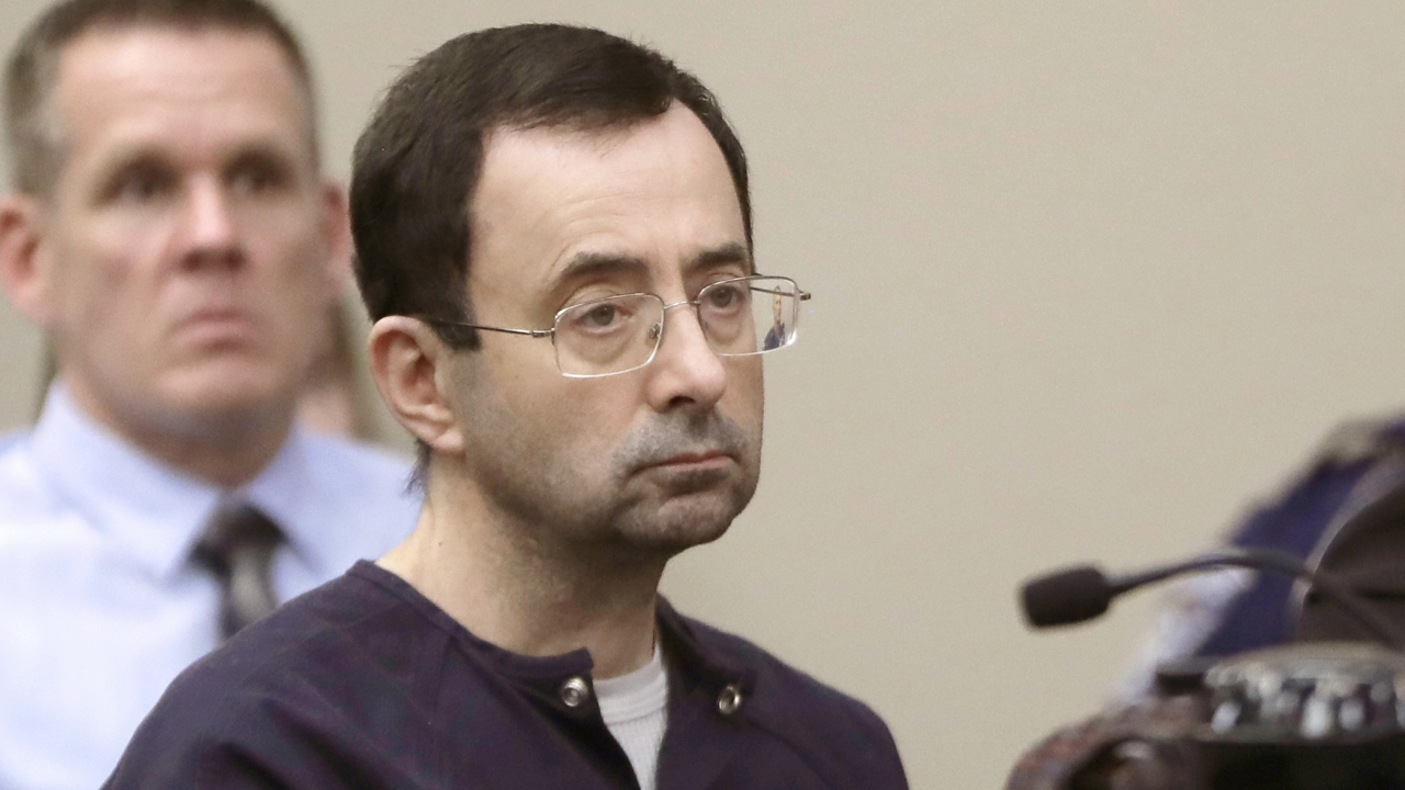 Larry Nassar, a former doctor for USA Gymnastics and member of Michigan State's sports medicine staff