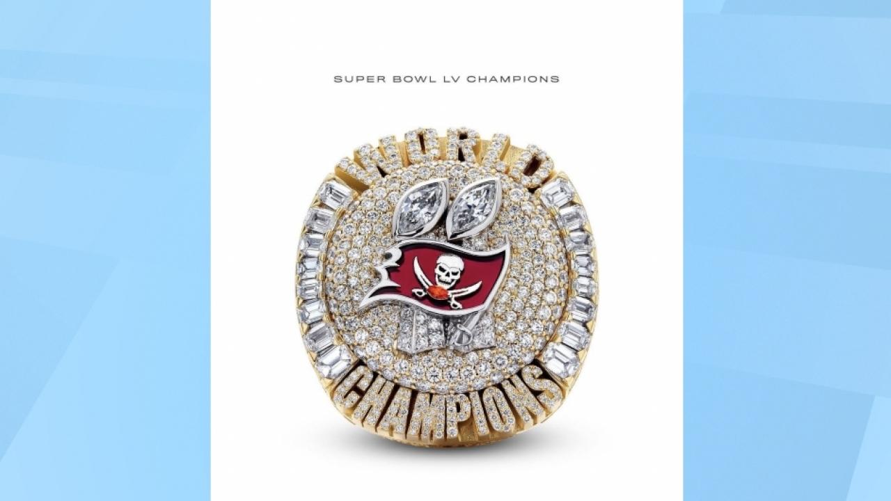 Tampa Bay Bucaneers Super Bowl Ring