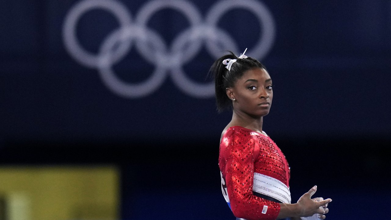 U.S. gymnast Simone Biles