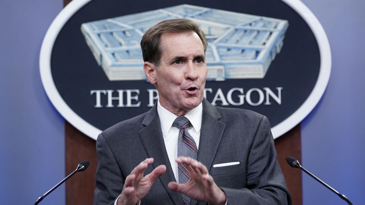 Pentagon spokesman John Kirby.
