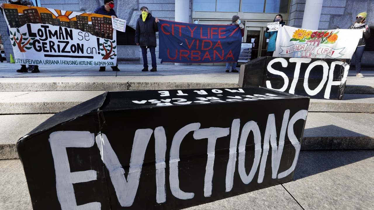 A federal judge is refusing landlords' request to put the Biden administration's new eviction moratorium