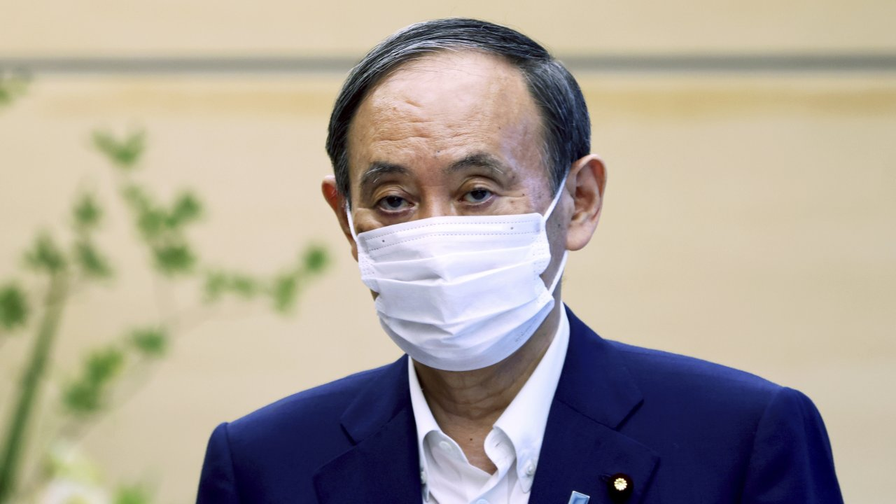 Japanese Primm Minister Yoshihide Suga