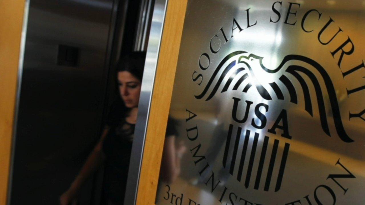 Social Security Administration logo.