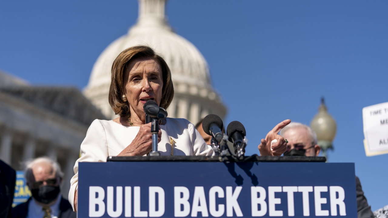 House Speaker Nancy Pelosi of California